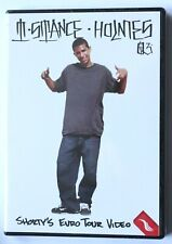"Shorty's Euro Tour Skateboarding ""T-Stance Holmes"" Video Dvd, New, 2003, Rare"