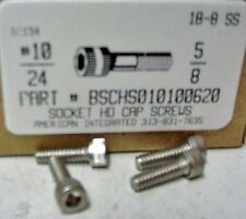 #10-24x5/8 Hex Socket Head Cap Screws Stainless Steel (29)