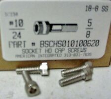 #10-24x5/8 Hex Socket Head Cap Screws Stainless Steel (29)