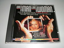 WHEN A MAN LOVES A WOMAN CD PERCY SLEDGE THE MARCELS VOGUES PAUL AND PAULA LOBO
