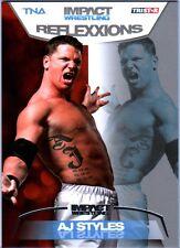 TNA AJ Styles #7 2012 Reflexxions SILVER Parallel Card SN 17 of 40