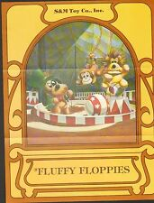 VINTAGE AD SHEET #998 -  SM TOYS - FLUFFY FLOPPIES