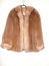 Gorgeous and Luxurlous Saga Fox Fur Coat Jacket ~ Unique Style and Color