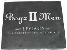 "BOYZ II MEN ""LEGACY:THE GREATEST HITS COLLECTION CD 2001 Rare Israeli Press"