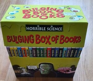 Horrible Histories Box Set Science With The Squishy Bits Left In