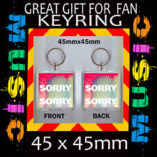 Sorry - Joel Corry -45X45mm  - Album Cover - Keyring Great Gift For Any Fan
