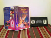 Beauty and the Beast (VHS, 1992) Vhs tape & clamshell case