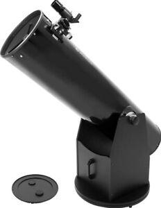 """Zhumell, Z8 Deluxe Dobsonian Reflector Telescope, 8"""", Black"""