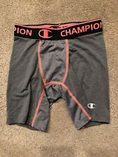 Champion Spandex Spandos Boys Size M Grey