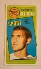 1970-71 Topps Basketball #107 Jerry West All-Star Los Angeles Lakers - EXMT