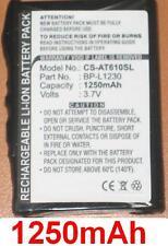 Batterie pour Airis T620 T610 T920 T920A T920E T920EF BL-L1230 *1250mAh*