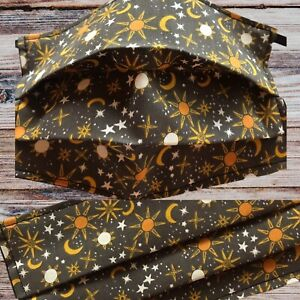 face mask Double Layered Moon and stars