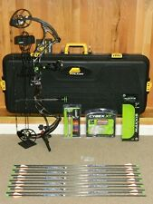"""Loaded, Right Hand Bowtech Reign 6 Bow Package- 50 to 60 lb- Reign6- 24"""" to 30"""""""