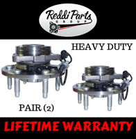NEW PAIR 2 Front Wheel Hub Bearing Assemblies for Chevy GMC Cadillac AWD 4WD 4x4