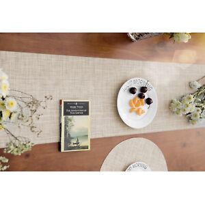 PVC Bamboo Woven Table Runner Kitchen Tableware Non-Slip Washable 30x180cm New