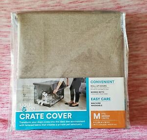 You & Me Crate Cover For Medium Crates Beige