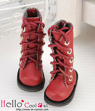 ☆╮Cool Cat╭☆【13-04】Blythe Pullip Doll Shoes Boots # Maroon