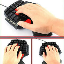 Professional T9 USB Wired Singlehanded Mechanical Gaming Keyboard Mini Keypads
