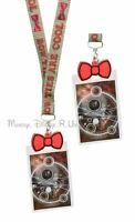BBC Doctor Dr Who Bow Ties are Cool Allover Lanyard Rubber Charm ID Holder New