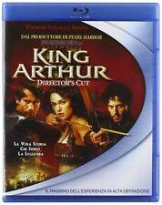Blu Ray KING ARTHUR - Versione Integrale Director's Cut Contenuti Speciali.NUOVO