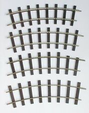 Peco G-Scale Curved Track Pieces x 4 (ST-905)