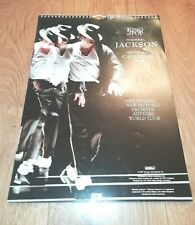 MICHAEL JACKSON * KING OF POP * 1998 OFFICIAL CALENDAR EXCELLENT