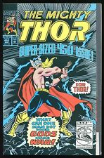 The Mighty Thor #450 What Can One Man Do? When Gods Make War! (Marvel 1992) A