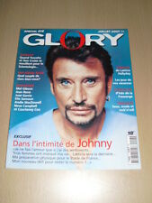 JOHNNY HALLYDAY Glory N°04 juillet 1998
