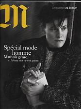 M LE MAGAZINE DU MONDE N°212 10/10/2015  MODE HOMME/ LUXE/ ELECTORAT DE TRUMP
