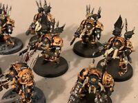 CHAOS Terminators Cultists Space Marines Khorne Berzerkers lot Warhammer 40k