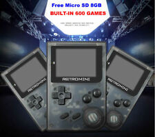 Built-in 600 Games-32 Bit Portable Mini Handheld Game Players Retro Game Console