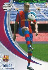 444 YAYA TOURE IVORY COAST FC.BARCELONA NUEVO TARJETA CARD MGK LIGA 2008 PANINI