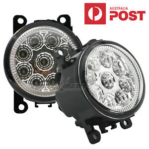 2X LED Fog Light Lamp For Mitsubishi Triton L200 Outlander Pajero Mirage RH + LH
