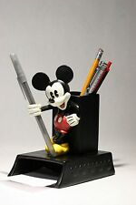 Rare Mickey Mouse Pen Pencil Notepad holder . Nice