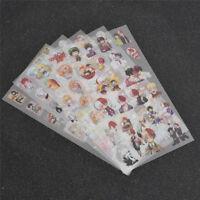 PVC Japanese Anime Laptop Sticker Luggage Phone Car Bicycle Waterproof Sticker