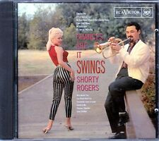 Cd Shorty Rogers: Chances Are It Swings New-Sealed RCA Label
