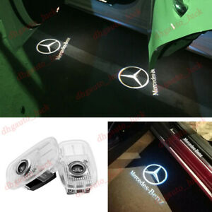 2x Car Door Light Logo LED Projector Ghost Shadow For Mercedes E-Coupe 2017-2020