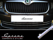 Skoda Superb and Combi II 3T Type Chrome Trim for Lower Radiator Grille 3M