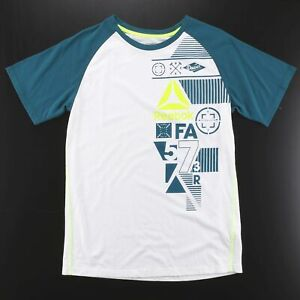 REEBOK  White 00s Short Sleeve T-Shirt Boys XL