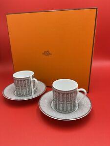 Hermés Mosaic coffee cup with saucer 2pcs