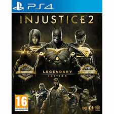 Injustice 2 Legendary Edition (Ps4, 2018)