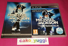 MICHAEL JACKSON THE EXPERIENCE SONY  PS3 TRES BON ETAT + LIVRET SONG LYRICS