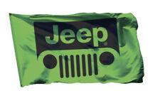 Jeep Flag Banner 3X5ft Wrangler Unlimited Sahara Rubicon 4x4 Sport Green Man Cav