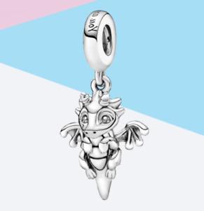 Pandora Original Anhänger Charm Sie Magic Dragon 798337c00 Silber s925 ALE