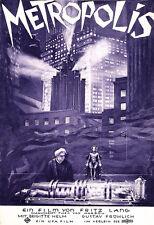L'ARTE Annuncio METROPOLIS Fritz Lang Film Poster Stampa