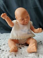 "Migliorati Anatomically Correct BABY boy DOLL 6 1/2"" NATIORA Italy Vintage mini"