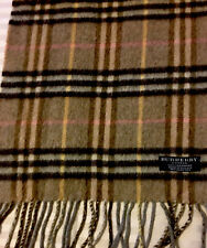 Authentic Burberry 100 % Cashmere Scarf