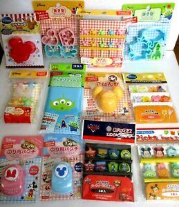 DISNEY 10 packs of Bento Decoration Food picks original random assort set