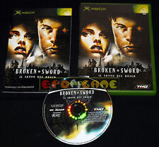 BROKEN SWORD IL SONNO DEL DRAGO Xbox Versione Italiana ○○○○○ COMPLETO