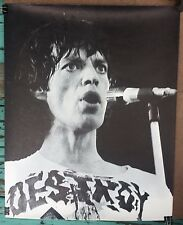 "Mick Jagger Rolling Stones 16x20"" Black & White Rolling Stones Poster"